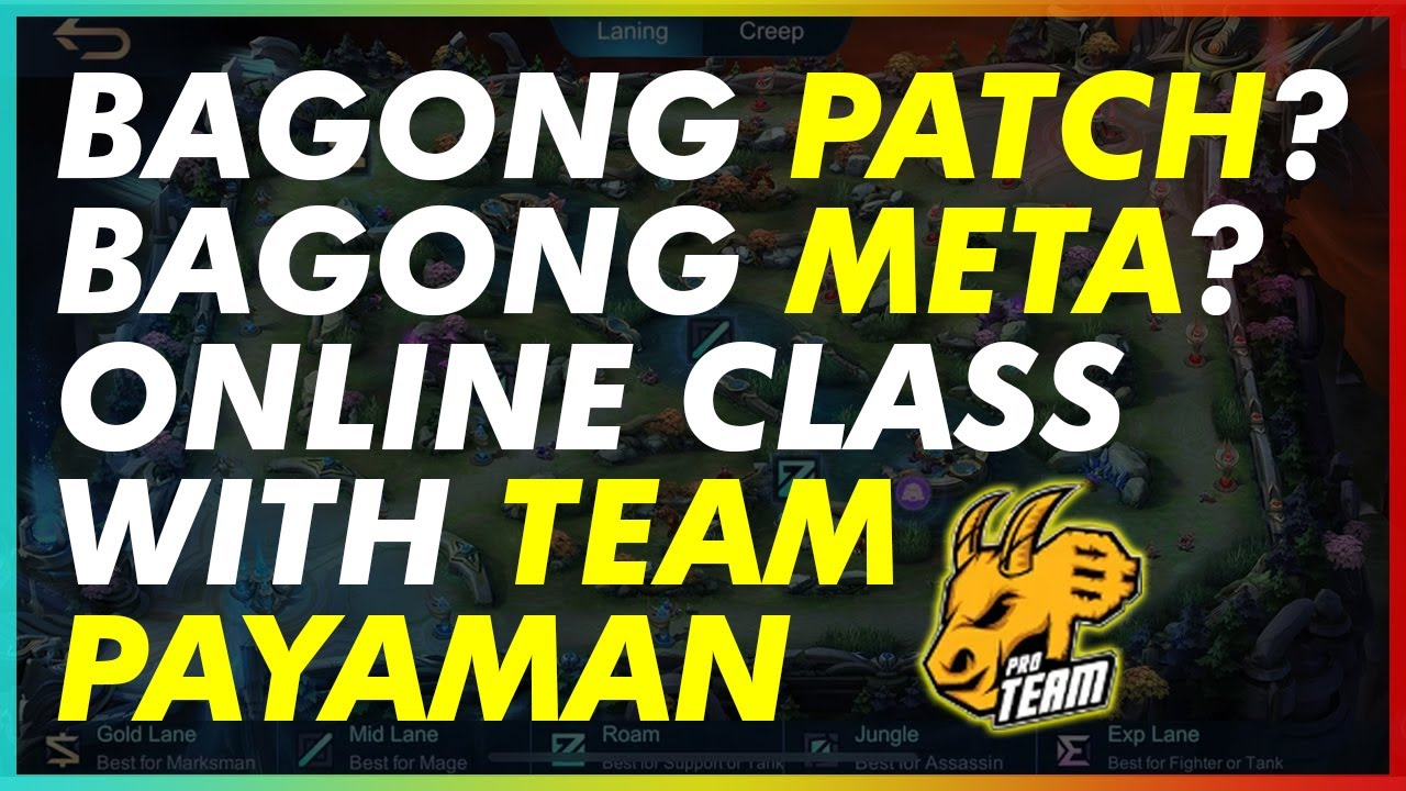 USAPANG BAGONG PATCH AT BAGONG META WITH TEAM PAYAMAN | MLBB