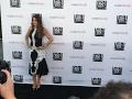 Sofia Vergara sizzles in black-and-white dress