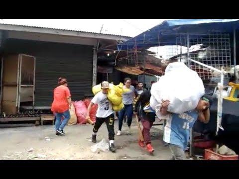 Saqueos en comercios de Nicaragua