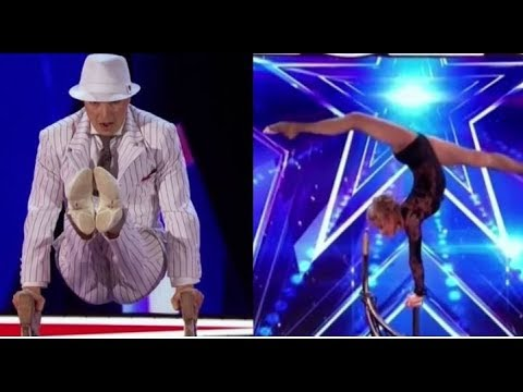 Maxim & Maria Popazov: Hand Balancer Couple COMPETE Against Each Other | America's Got Talent 2017