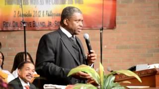dr steve bland jr sermon stronger together 10022016