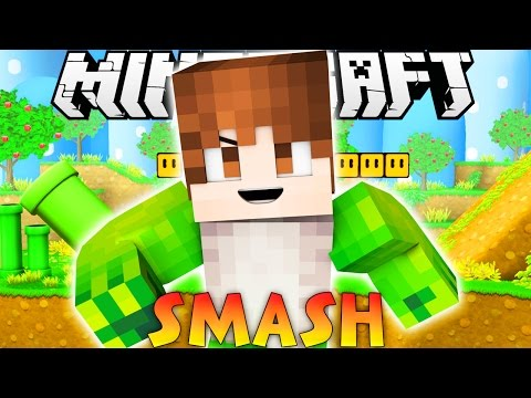 "Minecraft: ULTIMATE SMASH CRAFT! ""Creeper Bomb!"" (Mini-Game Challenge!)"