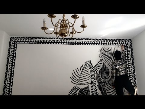 Wall painting & Mural Speed Painting. Creative Motivation for Art ...