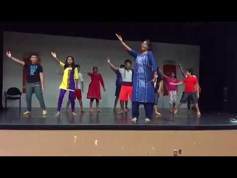 Dance practice of boys, 'kale megha' (with Music); by Nandini Sarkar