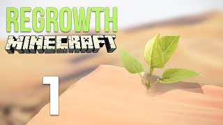 Minecraft Regrowth Modpack Ep 1: Everything is dead