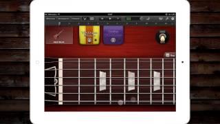 Crazy Train видео урок в GarageBand на iPad 2 #6