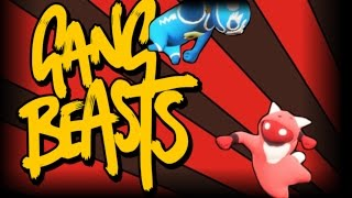 Gang Beasts   With Wolfie   SUPER KICKS ACTIVATE!!!