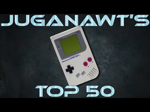 Top 50 Game Boy Games of All Time in HD 1080p 60fps!