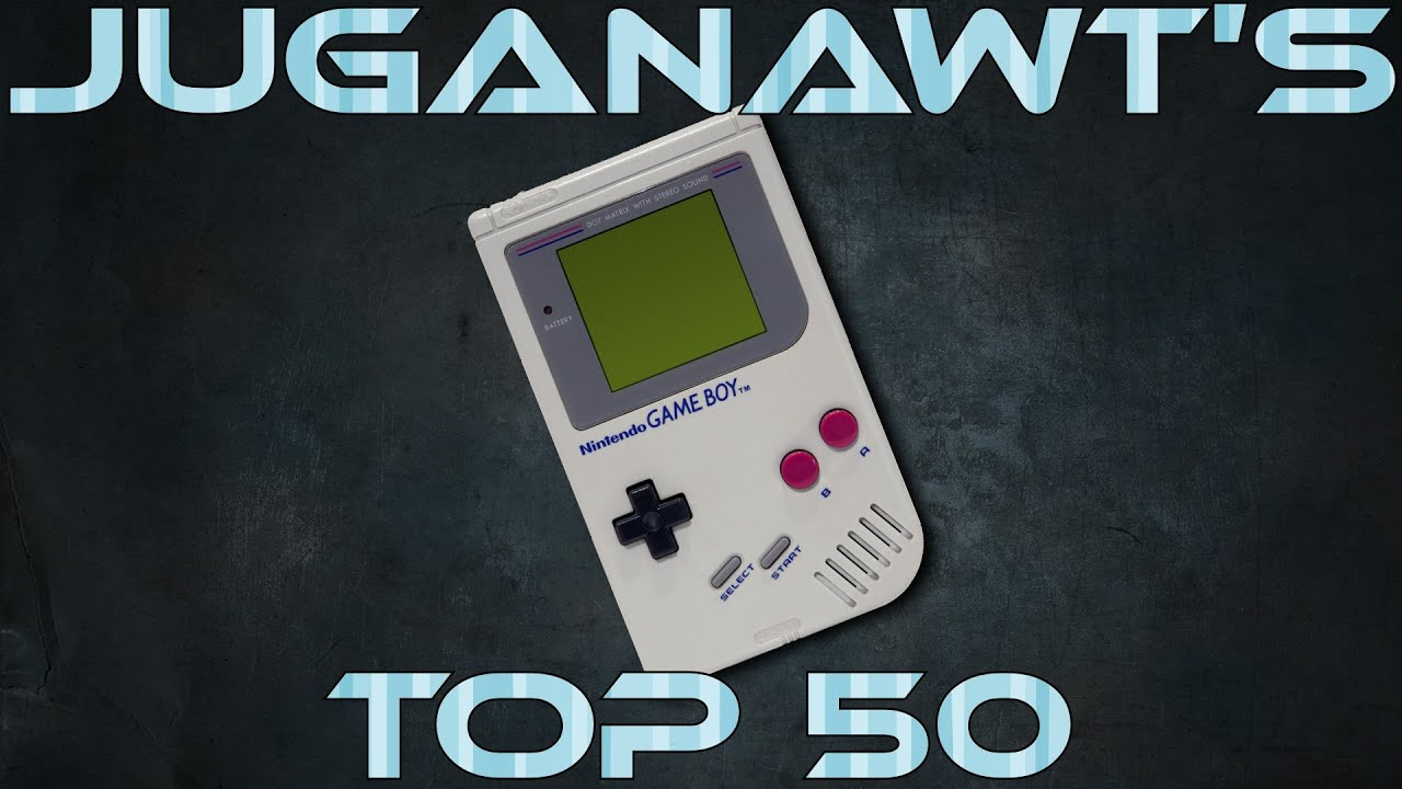Top 50 Game Boy Games Of All Time In Hd 1080p 60fps Youtube