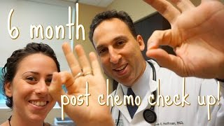 my six month check up after finishing chemo {vlog}