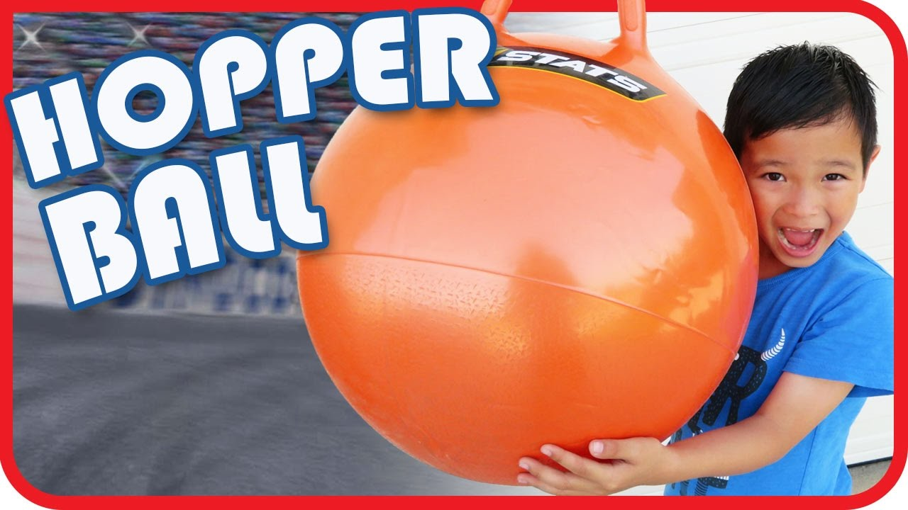 8fd85ee34e6c Hopper Ball for Kids from Toys R Us Bounce Bounce Bounce - YouTube