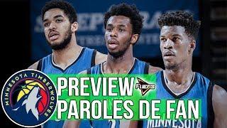 PAROLES DE FAN - TIMBERWOLVES feat @TwolvesArmyBE (NBA 2k17 - Co-Op)