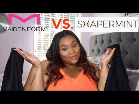 SHAPERMINT vs. MAIDENFORM | WHICH IS BETTER?!