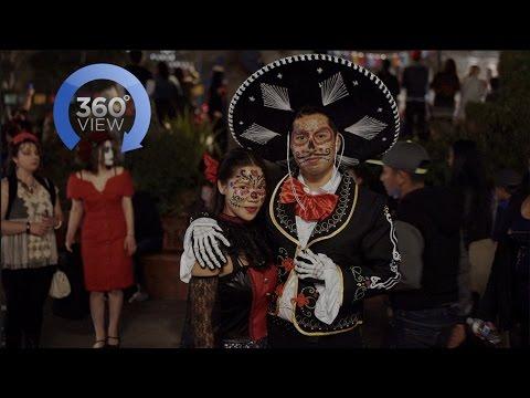 Dia De Los Muertos in 360 Degrees!