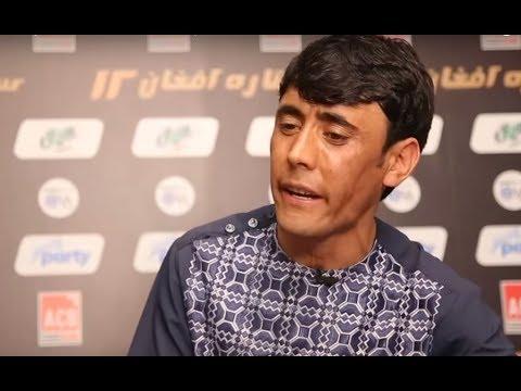 Afghan Star - Interview with Panjshanba Maftoon / ستاره افغان - مصاحبه با پنجشنبه مفتون