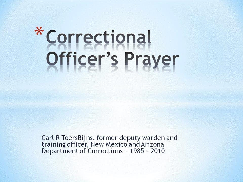 correctional officer s prayer youtube