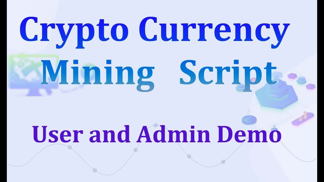Cryptocurrency Mining Script - ICO mining script PHP - dogecoin cloud mining script