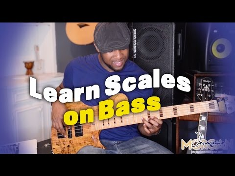 LEARN SCALES ON BASS - BASS LESSONS - Jermaine Morgan TV