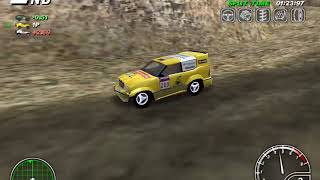 Master Rallye (2001) #4 - view from outside camera