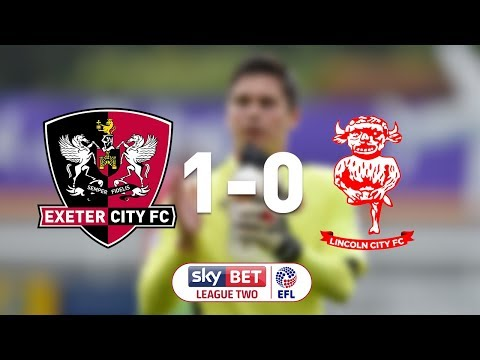 Exeter City 1 Lincoln City 0 (19/8/17) EFL Sky Bet League Two highlights