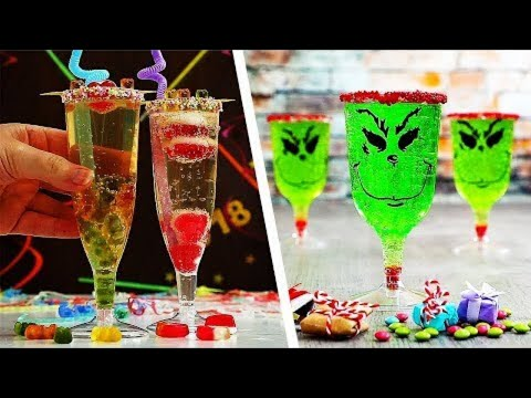 4 Kiddy Christmas Mocktails | Christmas Party Ideas | Craft Factory