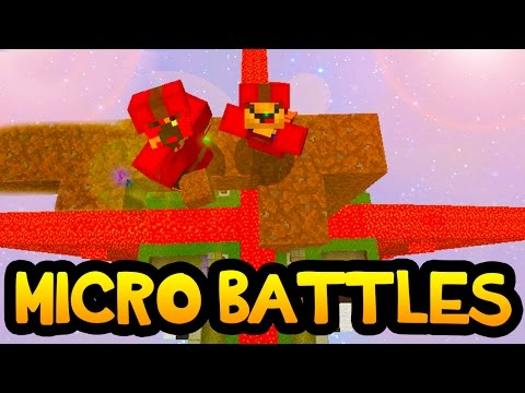 """Minecraft Micro-Battles """"THE MOST AMAZING ROUNDS!"""" w/ Poofless"""