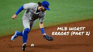 MLB Worst Errors 2021ᴴᴰ (Part 2)
