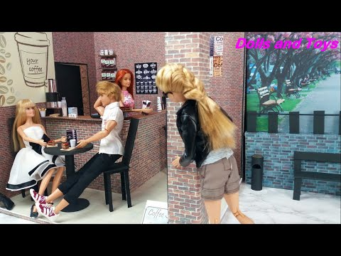 Barbie & Ken Morning Routine Bedroom, Doll House, Jouets enfants, poupée routine.Video de Barbie Ken