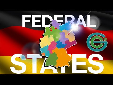 STATES (Bundesländer) of GERMANY EXPLAINED (Geography Now!)