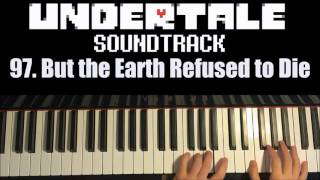 Undertale OST - 97. But the Earth Refused to Die (Piano Cover by Amosdoll)