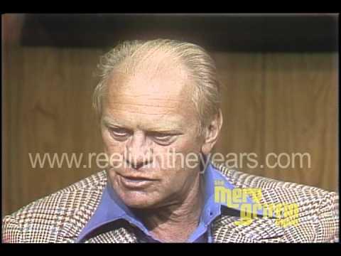 Gerald Ford Interview- Pardoning Nixon (Merv Griffin Show 1979)