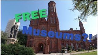 FREE Museums in DC?!