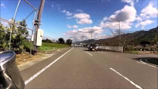 和歌山県道13号の新しくなった部分+α