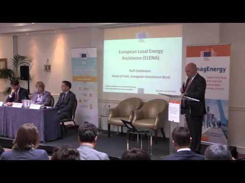 Ralf Goldmann, Head of Unit, European Investment Bank, European Local Energy Assistance (ELENA)