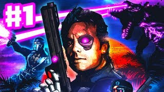 Far Cry 3: Blood Dragon DLC - Gameplay Walkthrough Part 1 - Prologue and Mission 1 (PC)