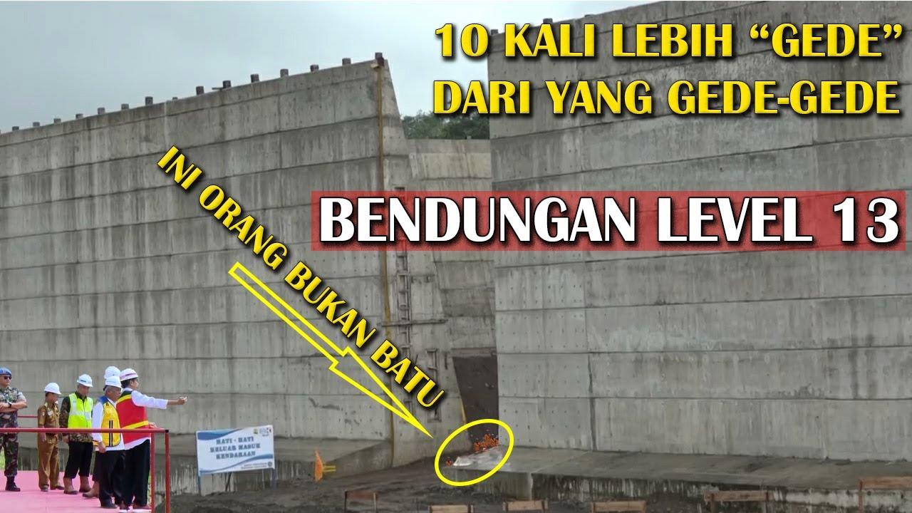 BENDUNGAN RAKSASA Rampung, 10x Lebih Besar Dari yg Pernah Diresmikan Presiden Jokowi