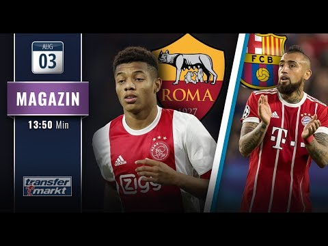 Gerüchte-Check: Neres zur Roma? Vidal auf dem Weg zu Barça   TRANSFERMARKTV