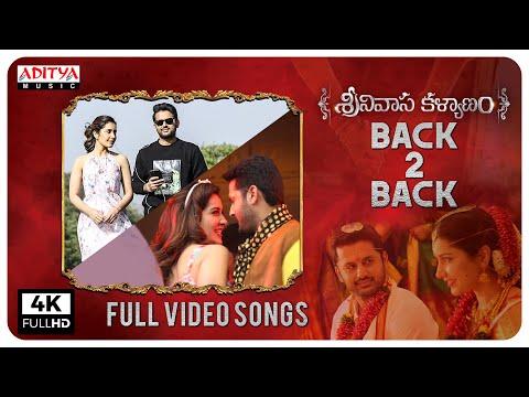 Srinivasa Kalyanam Full Video Songs Back To Back | Nithiin, Raashi Khanna