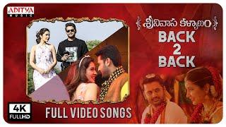 Srinivasa Kalyanam Full Songs Back To Back | Nithiin, Raashi Khanna