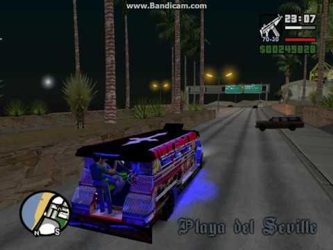 Gta San Andreas-Makulet Scheel Jeepney