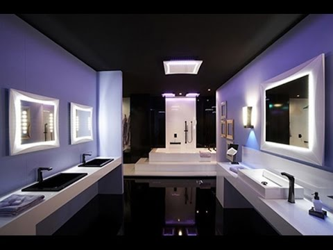 Led bathroom lighting youtube led bathroom lighting aloadofball Image collections