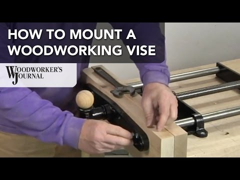 Mounting a Workbench Vise