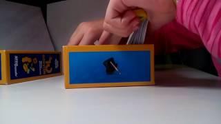 Обзор синего набора 10 фокусов.