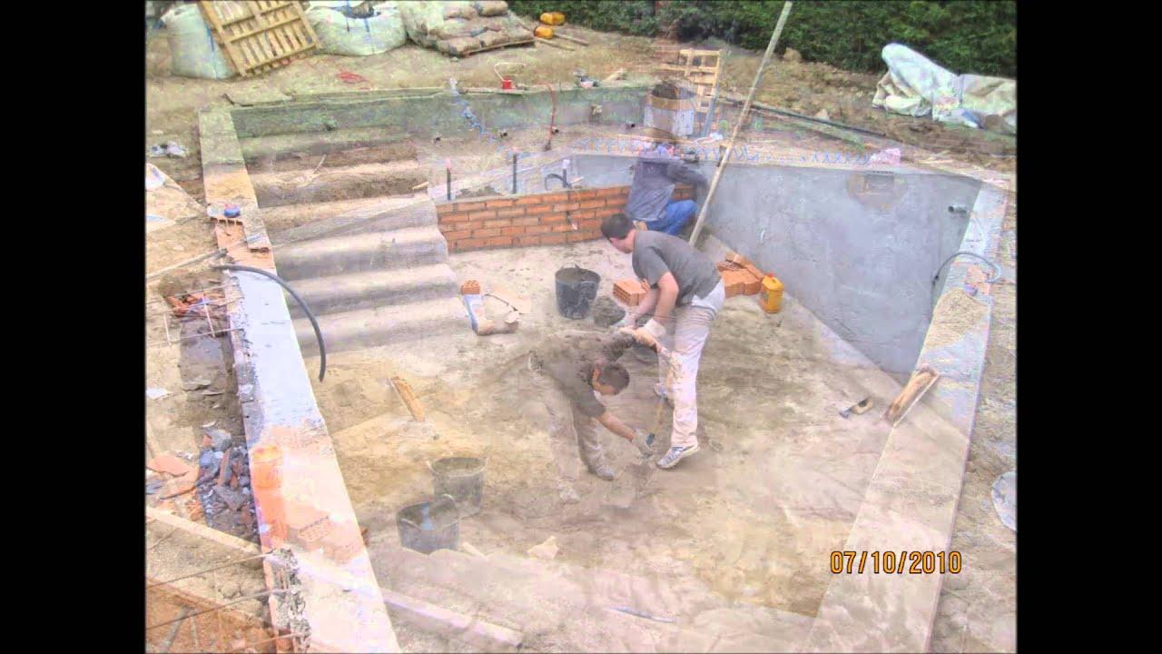 Construcci n paso a paso piscina youtube - Construccion piscinas paso paso ...