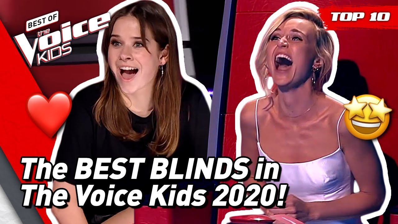 UNFORGETTABLE BLIND AUDITIONS in The Voice Kids 2020 (so far)! ❤️ | TOP 10