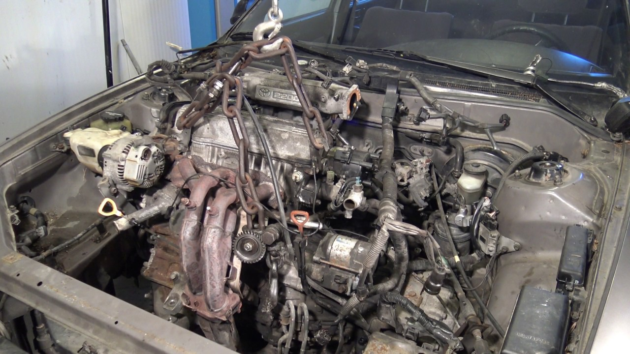 How to remove a Toyota Camry 2.2 engine in a few minutes  Camry Engine Diagram on 1992 camry engine diagram, transmission engine diagram, 92 camry blower motor, 96 camry engine diagram, 92 camry dash lights, 92 camry door lock, 92 camry shift solenoid, 94 camry engine diagram, fuel pump engine diagram,