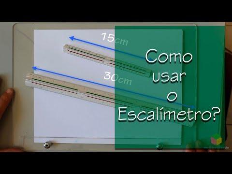 Curso de desenho técnico - Como usar o escalímetro parte 2 de YouTube · Duração:  15 minutos 20 segundos