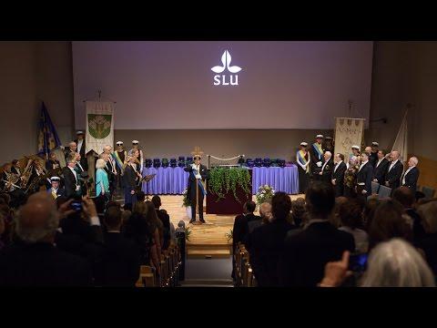 SLU:s promotionsceremoni 2016