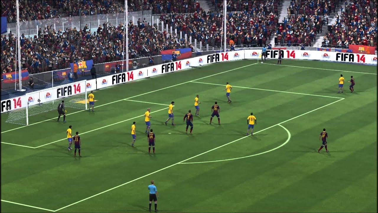 FIFA 14 İlk Golüm