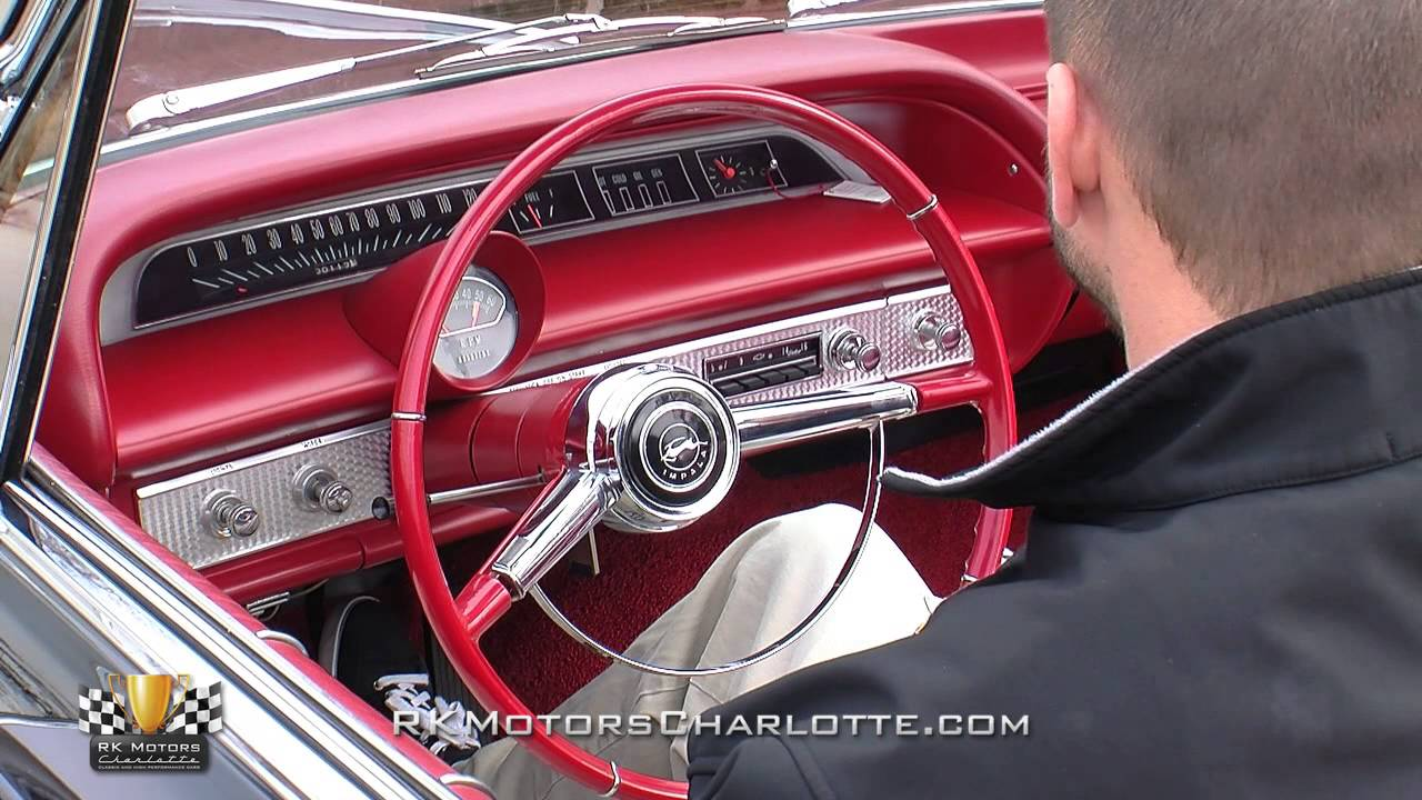 maxresdefault 134460 1964 chevrolet impala ss youtube 1964 impala steering diagram at webbmarketing.co